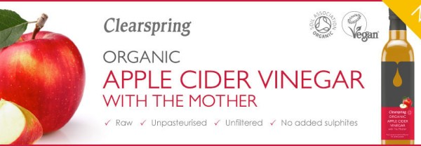 Organic Apple Cider Vinegar with the Mother
