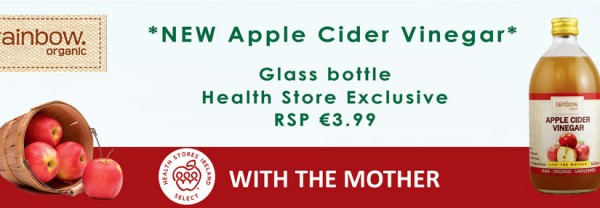 Rainbow Organic Apple Cider Vinegar